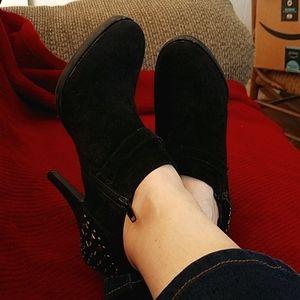 Nine West studded boots